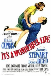 Movie Poster for Its a Wonderful Life starring James Stewart